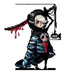 Skull Kid Pixel Art by ChippyFish