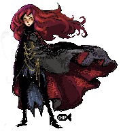 Pixel Vampire by ChippyFish