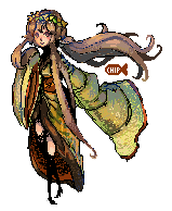 Pixel Goddess by ChippyFish