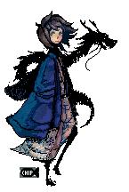 Dragon Pixel by ChippyFish