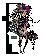 Flowery Pixels by ChippyFish