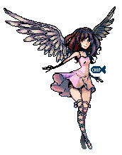 Angelic Pixels. by ChippyFish