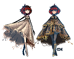 Fashionable Pixels by ChippyFish