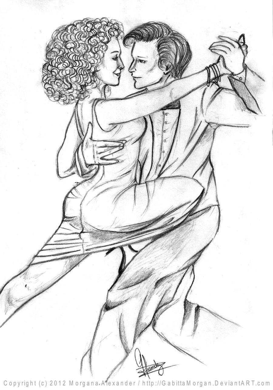 .::Dance with me::. sketch by GabittaMorgan