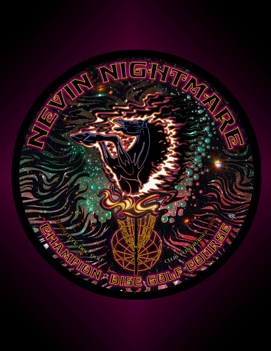 NEVIN NIGHTMARE CHAMPION DISC GOLF COURSE by BEYONDtheDISC