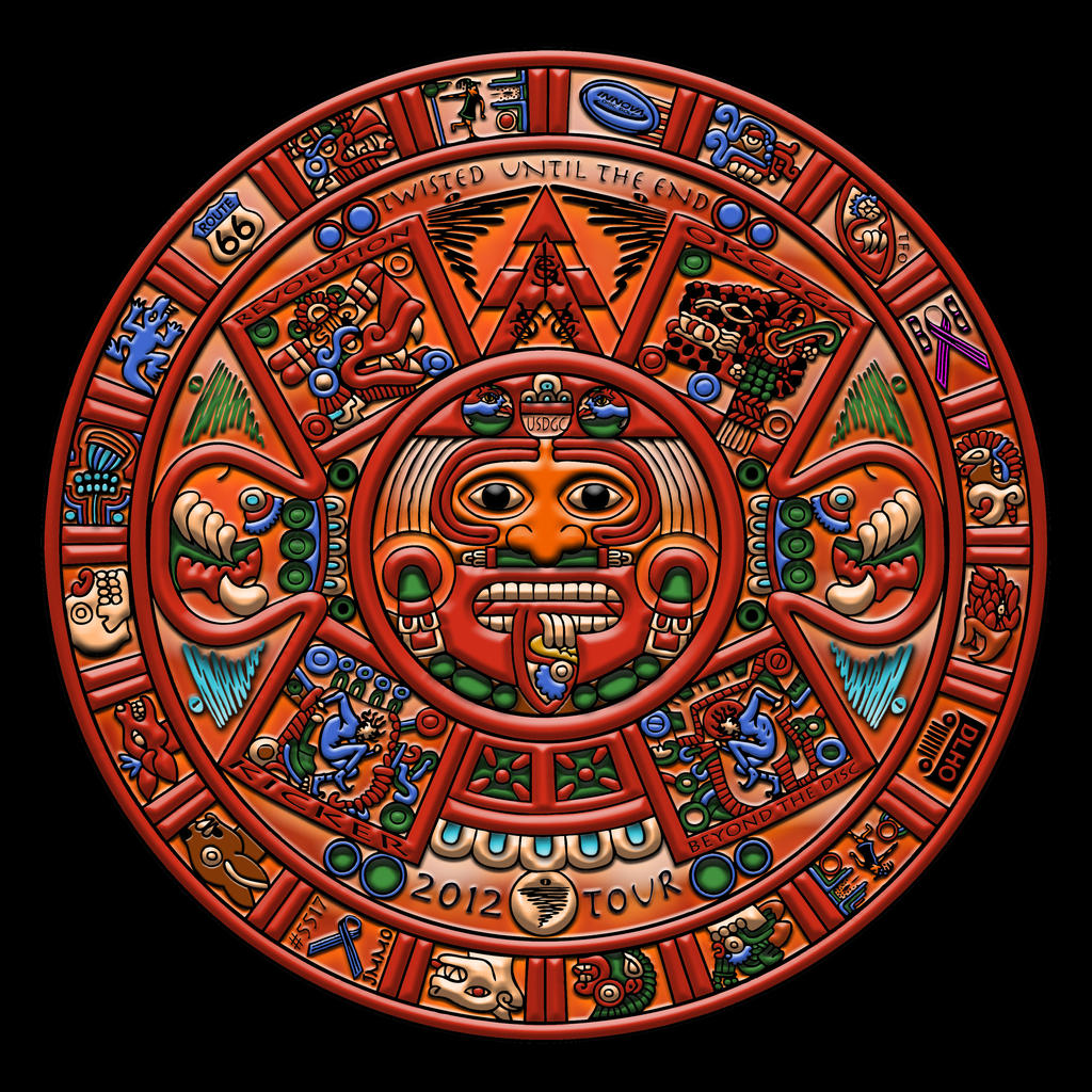 TWISTED MAYAN CALENDAR 2012 by BEYONDtheDISC on DeviantArt