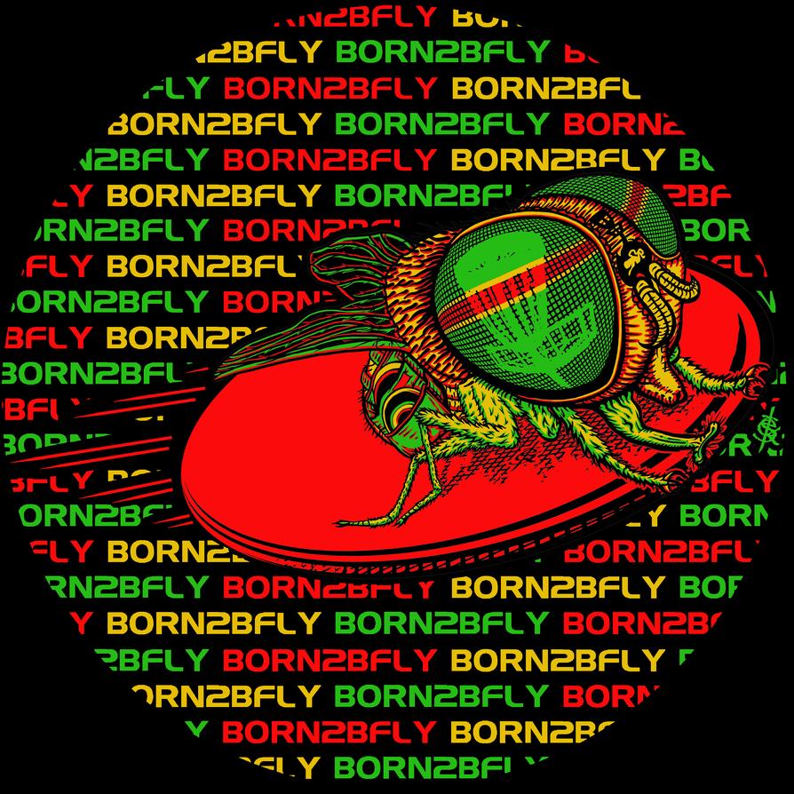 Disc By Supermaxer On Deviantart: BORN2BFLY Disc Golf Logo 2012 By BEYONDtheDISC On DeviantArt