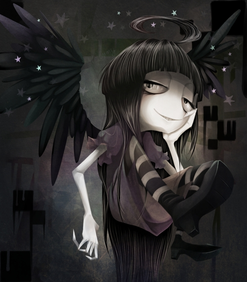 Black Angel. by Meammy