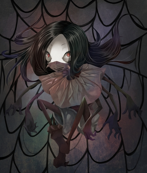 Spider. by Meammy