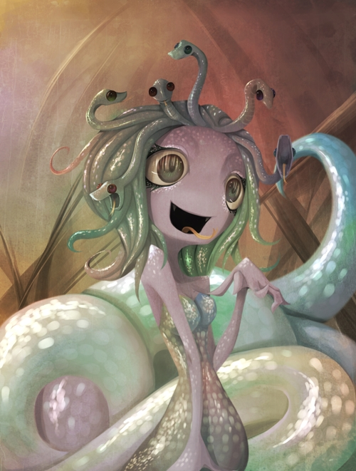 Medusa. by Meammy