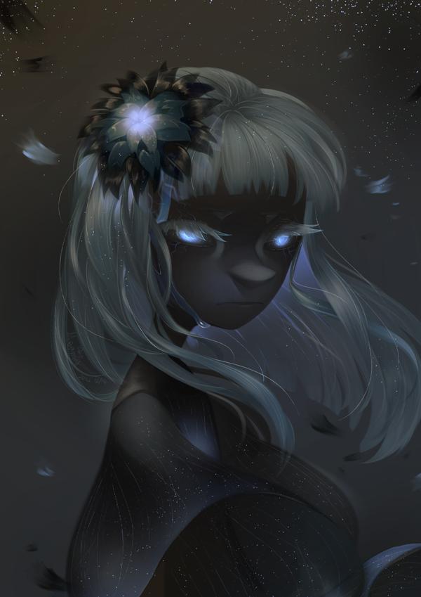 Black flower. by Meammy