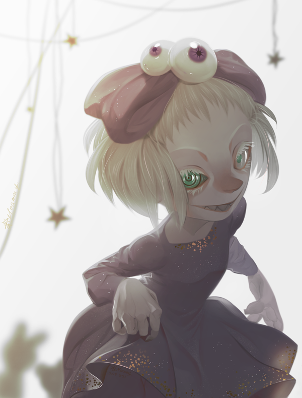 Eyeball Girl by Meammy