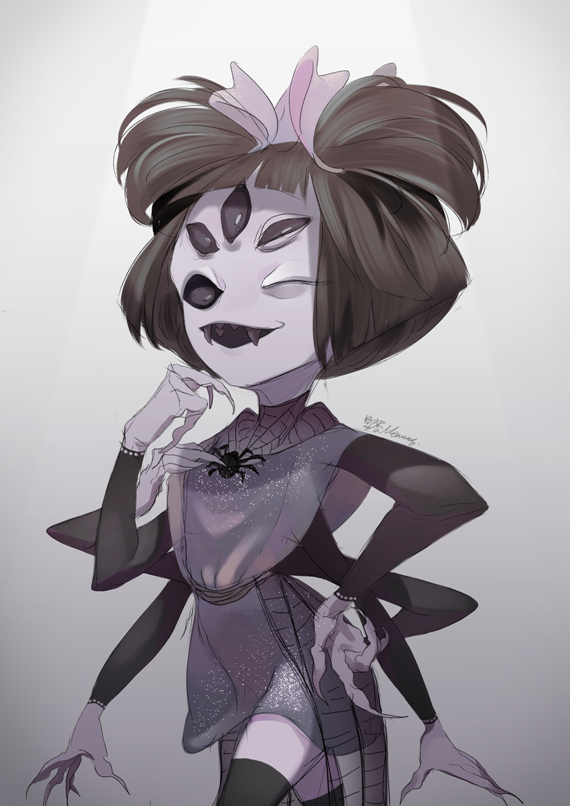 Muffet #2 by Meammy