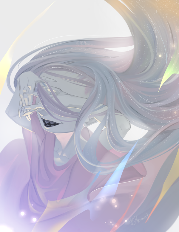 Universe In Hair. by Meammy
