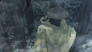 raincoat dude