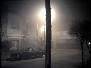 Misty Night in Buenos Aires