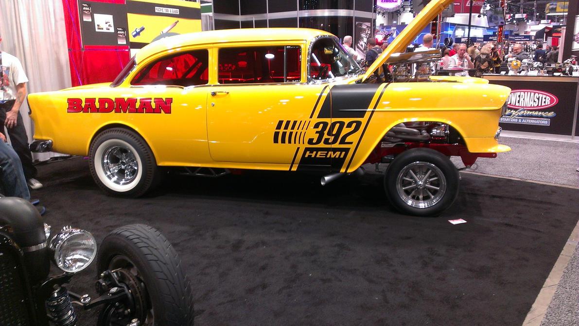 Bad Man '55 Chevy Gasser 2 by Blsdesq