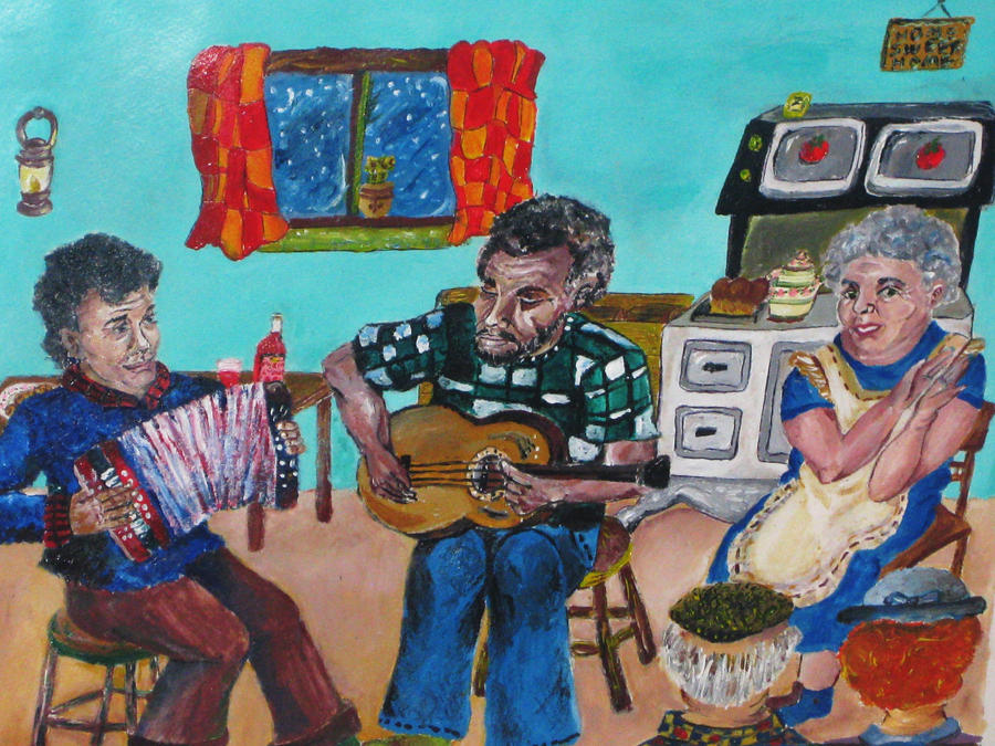 Newfoundland Kitchen Party by AlexisLynch