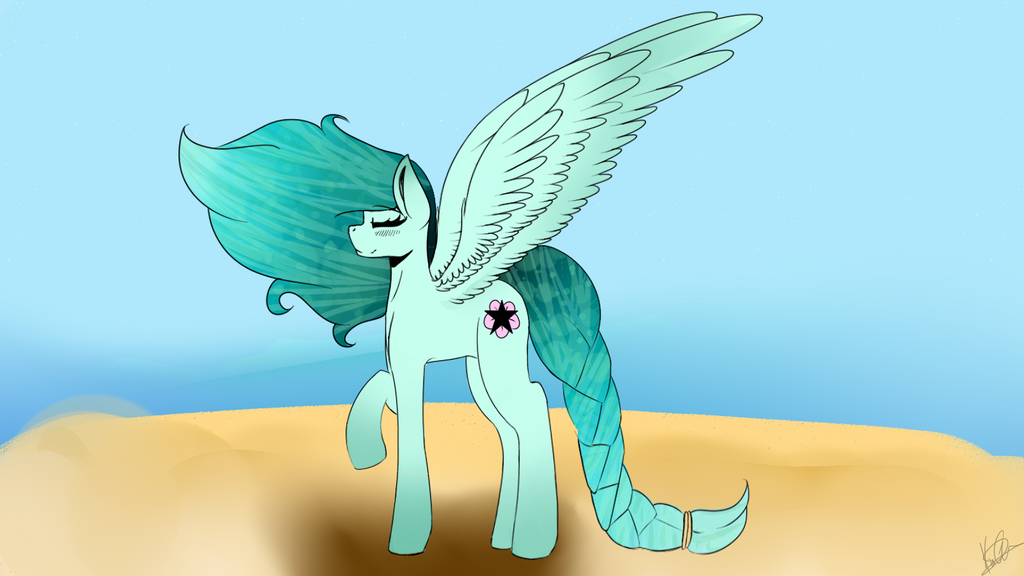 Pony of the Sea and Sky by PewdsFanBro