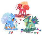 Pokemon fusions: Vulpix