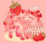 Strawberry Coconut Milk Doefluff