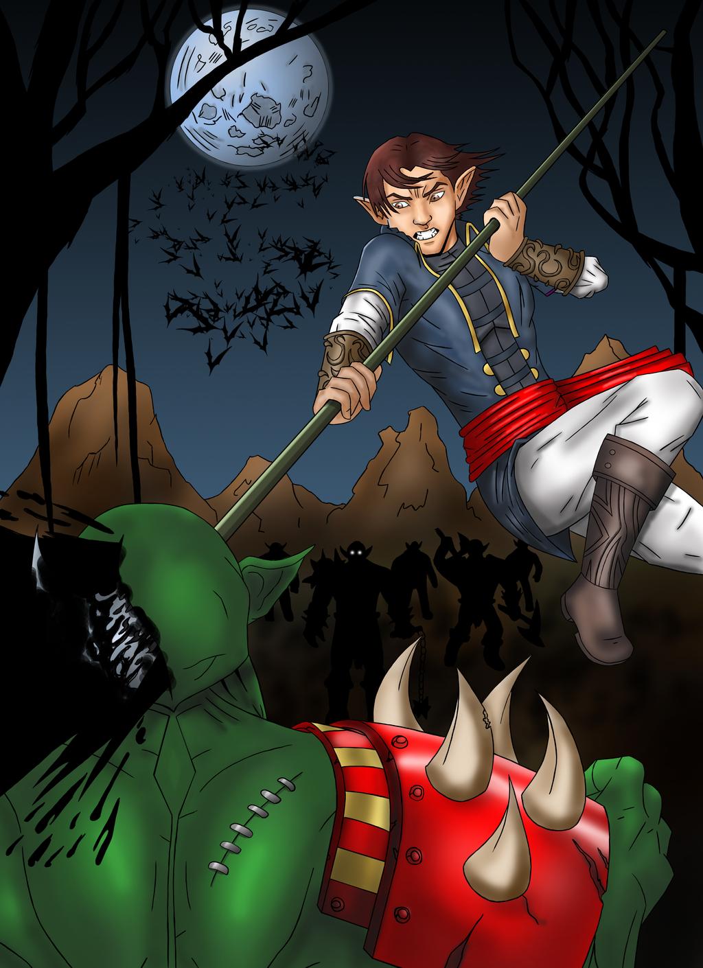 Azz vs orcs by Th3DarkKn1ght