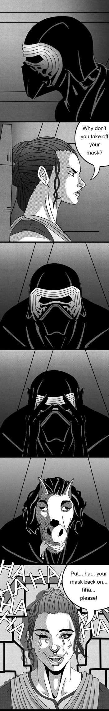 Star Wars - The Force Awakens Comic Strip by Th3DarkKn1ght