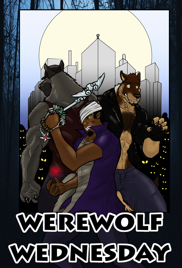 Werewolf Wednesday chapter 2 cover by sonicjr53