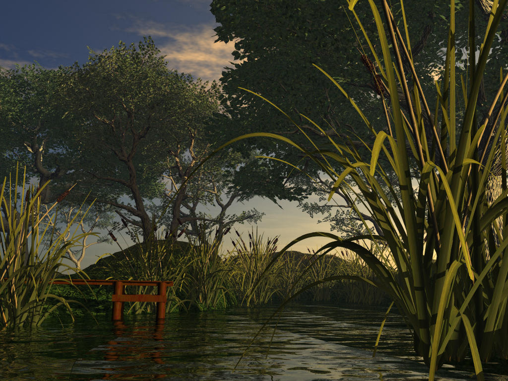 The Reed and the River by drevan