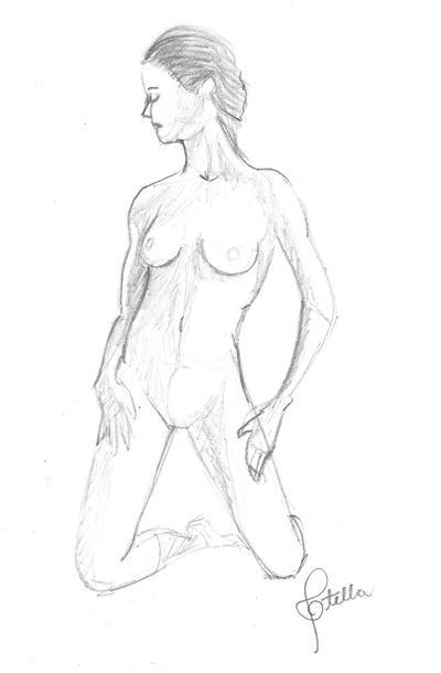 Pose Study #2 by Elvann
