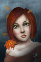 Autumn, my Heart is Yours by Elvann