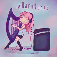 #HarpRocks by Elvann