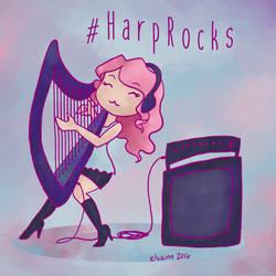 #HarpRocks