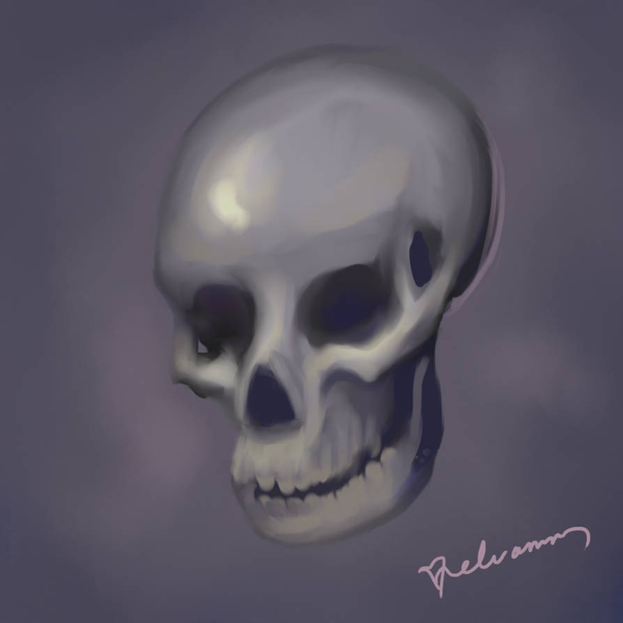Skull by Elvann