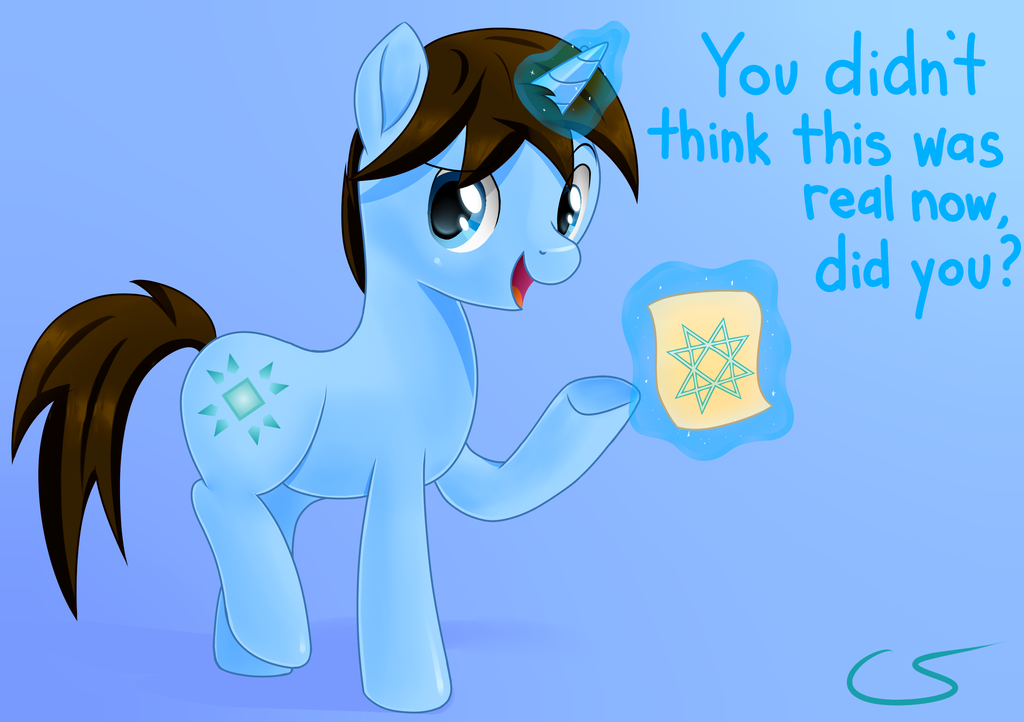 That post-it on my flank by Cyanspark
