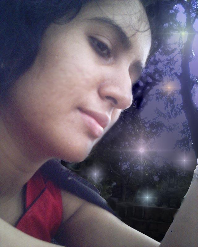 Pensive me by Boishakhee