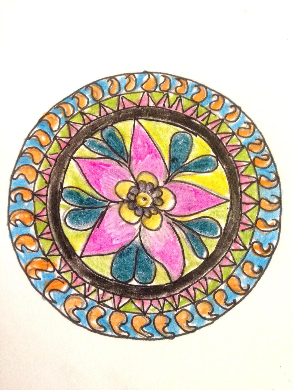 Mandala moments by Boishakhee