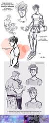 [pno] nemo sketchdump 1 by RosariaBec