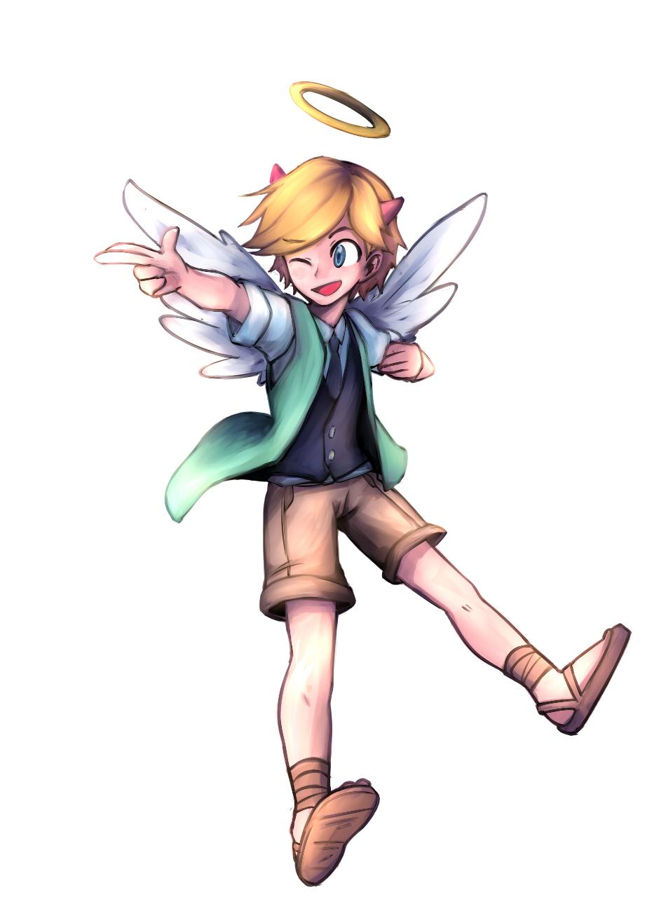 svtfoe x angel au by weidao