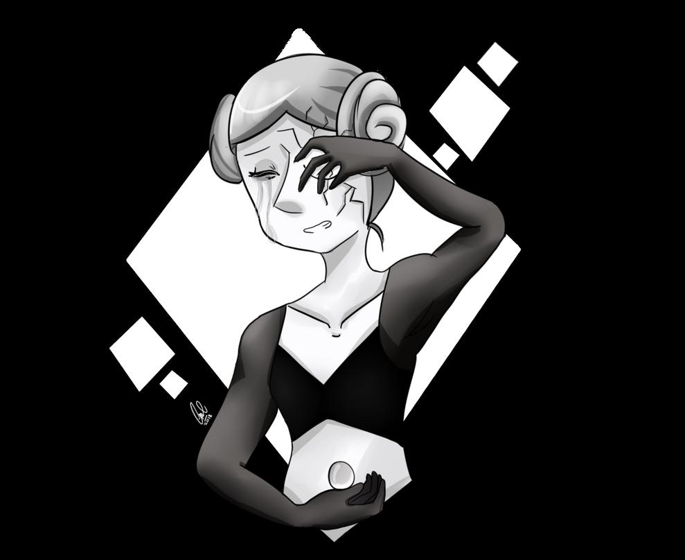 Después de este gran episodio quise dibujar a White Pearl. Espero que les guste esta princesa Leia versión Steven Universe(?? Disfruten el dibujo. Los quiero <3 #stevenuniv...