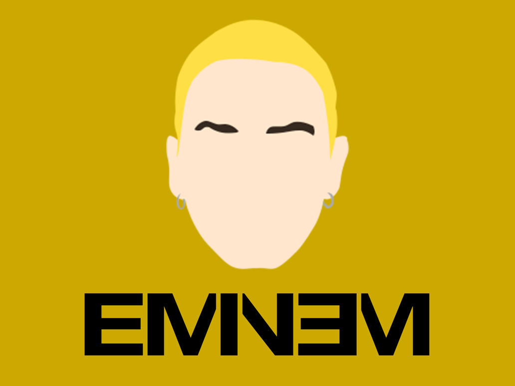 Wallpaper Minimalista - Eminem by marciomrb