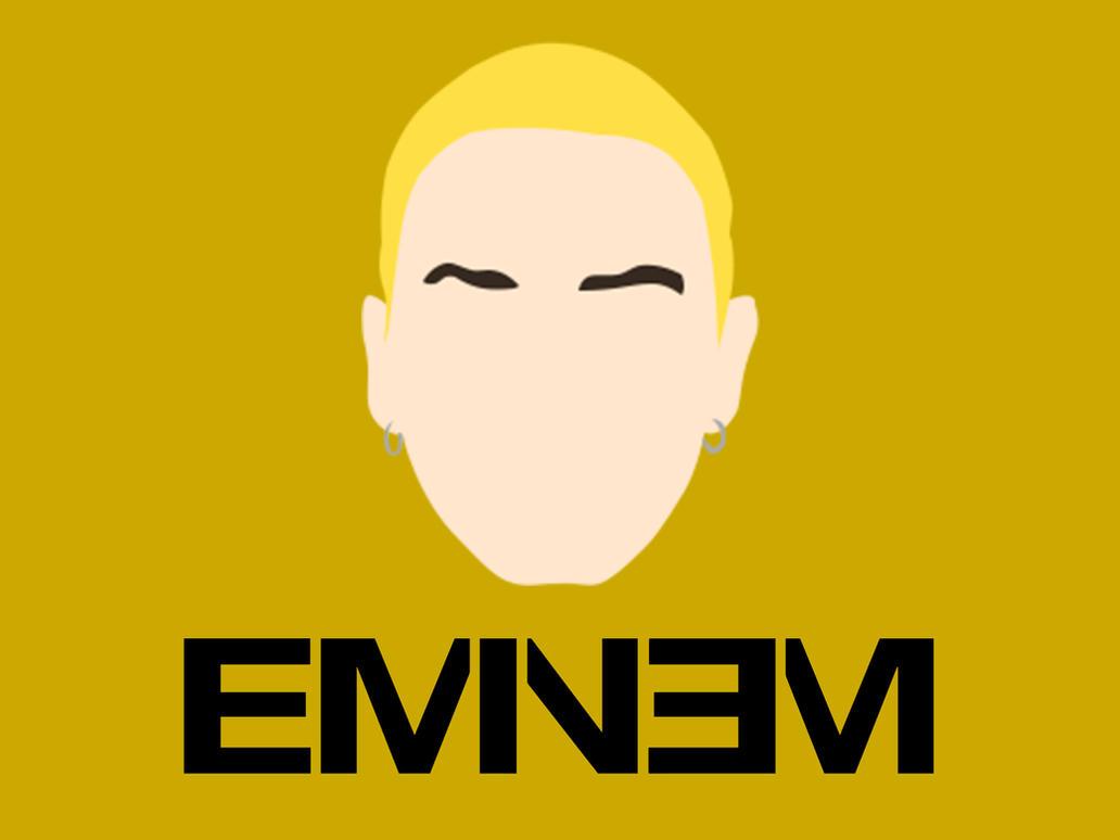 Wallpaper Minimalista - Eminem by marciomrb
