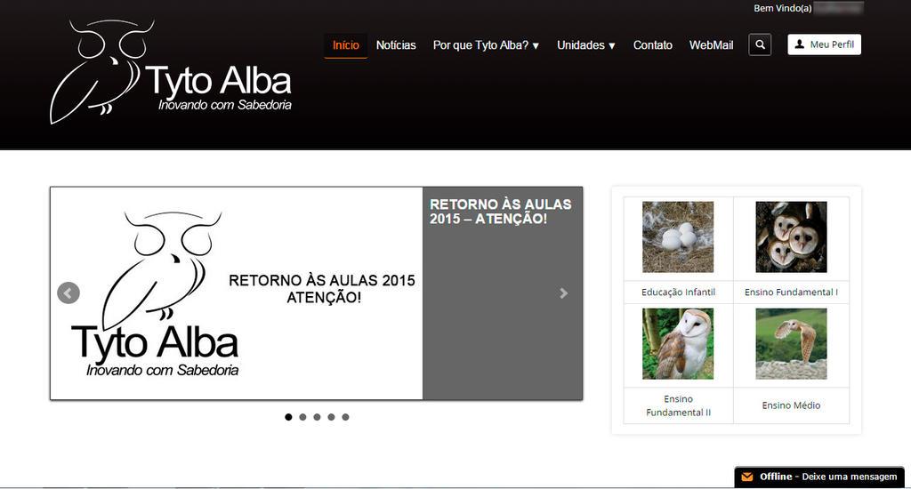 Tyto Alba - Inovando com Sabedoria (layout) by marciomrb