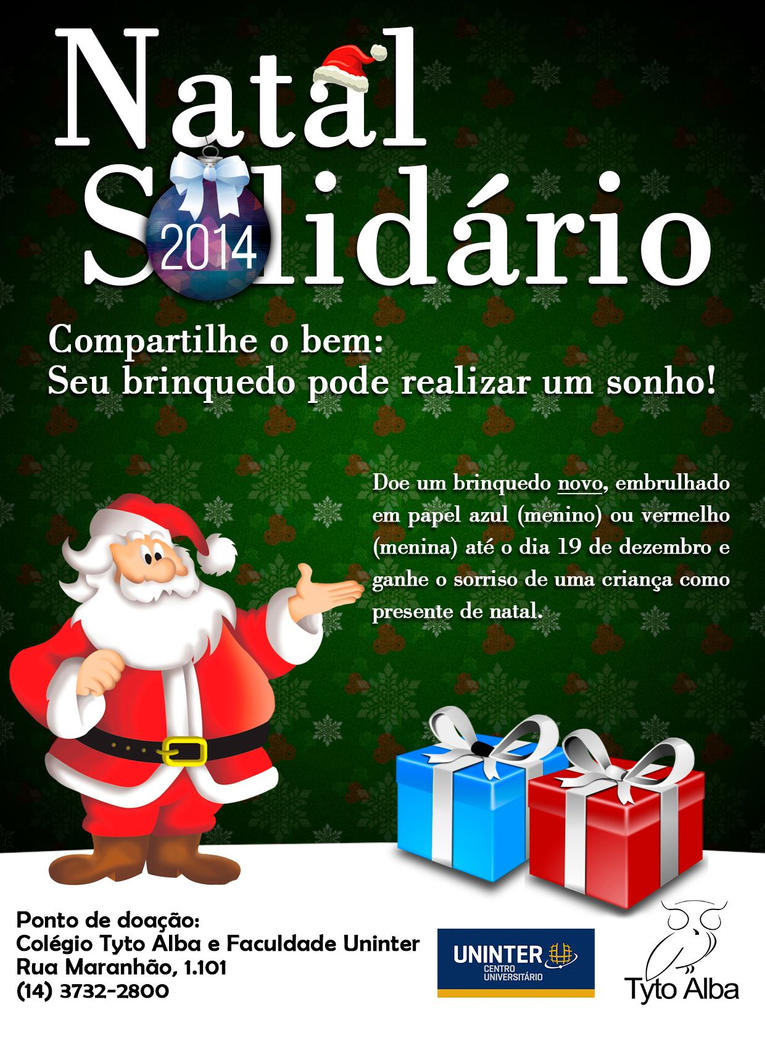 Flyer Natal Solidario by marciomrb