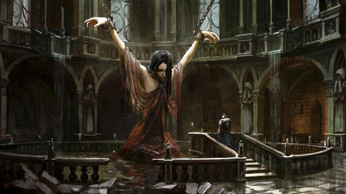 Dark Souls 2 Caithas Concept Art By Tarakanovich