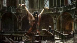 Dark Souls 2 Caitha's concept art