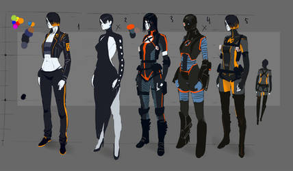 Domino's new suit sketches