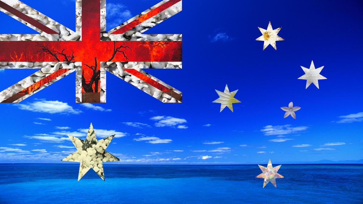 Aboriginal Flag Wallpaper Australian Flag by Emma-