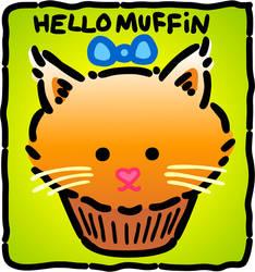 Hello Kitty Muffin by TheFatNinjaKitten on DeviantArt