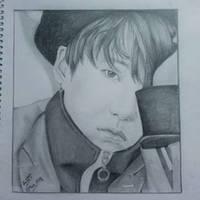Suga Art Bts by Ashnoor96